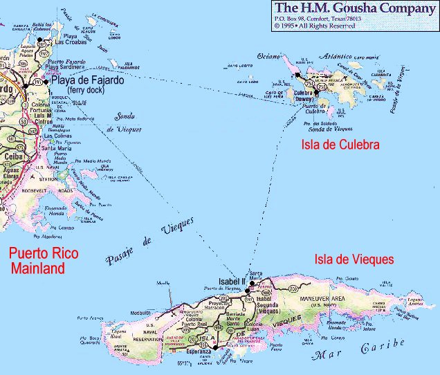puerto rico journey the eastern islands vieques