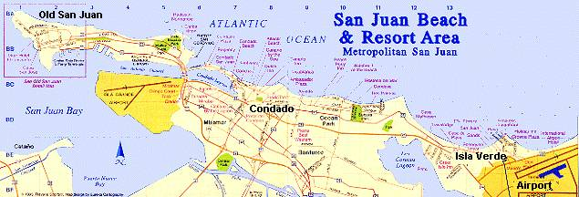 Hotel Inside San Juan Puerto Rico Airport Beach Hotels – Tourist Map Of San Juan Puerto Rico
